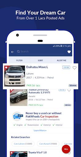 PakWheels: Buy & Sell Cars, Bikes and Auto Parts 11.7.5 Screenshots 3