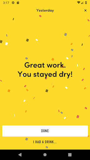 TRY DRY: The app for Dry January and beyond screenshots 2