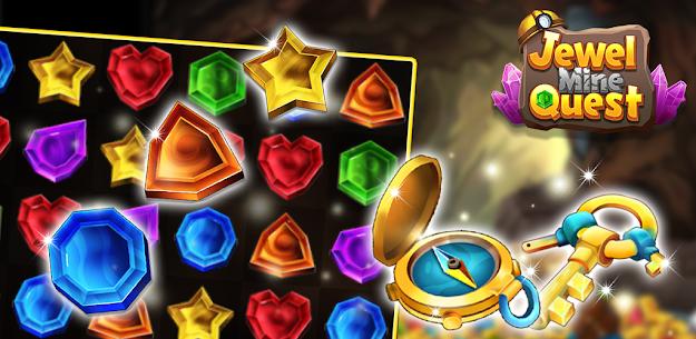 Jewel Mine Quest: Match-3 puzzle 2