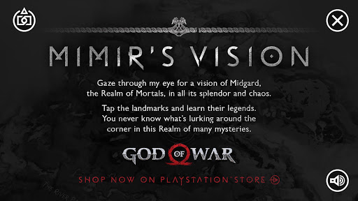 God of War | Mimiru2019s Vision 1.3 com.playstation.mimirsvision apkmod.id 2