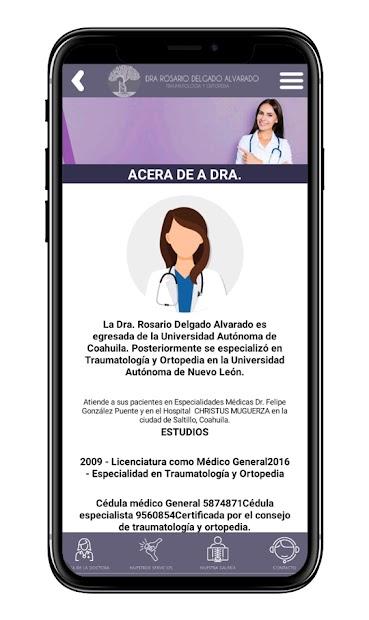 Dra. Rosario Delgado Alvarado screenshot 1
