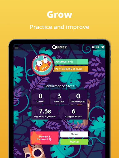 Quizizz: Play to learn apktram screenshots 8