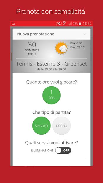 ASD Montemarciano Tennis screenshot 1