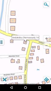 Map of Cyprus offline