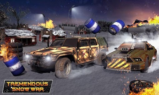 Furious Death Car Snow Racing: Armored Cars Battle Hack Online (Android iOS) 3