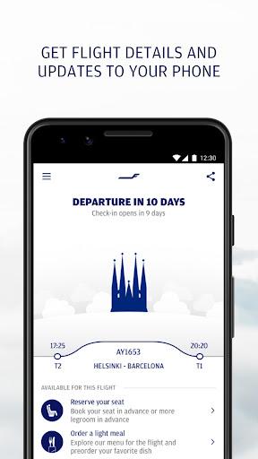 Finnair screenshot 1