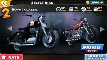 Bike Moto Wheelie