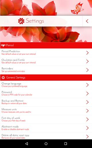 Period Tracker & Diary  Screenshots 13