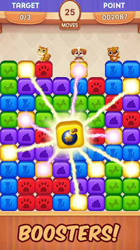 Pet Rescue Mission - Blast Toy Cubes and Save Pets 1.2.0 screenshots 3