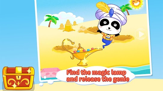 Baby Panda's Treasure Island 9