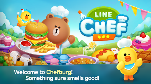 LINE CHEF Enjoy cooking with Brown! 1.11.0.16 screenshots 1