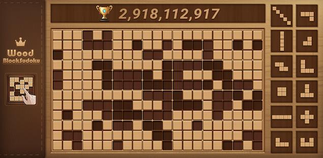 wood block sudoku game -classic free brain puzzle hack