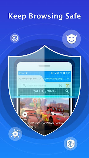 Web Browser for Android 3.4.5 Screenshots 2