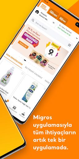 Migros Sanal Market Apkfinish screenshots 2