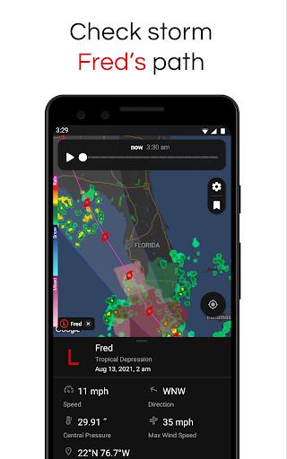 Clime: NOAA Weather Radar Live & Alerts apktram screenshots 1
