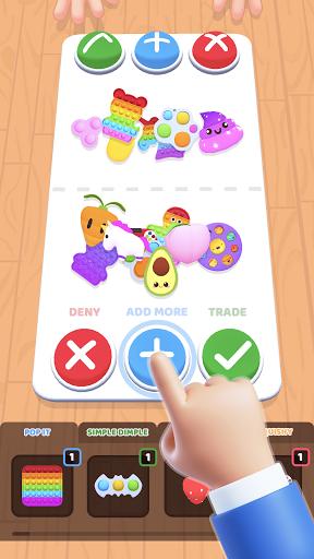 Fidget Toys Trading: fidget trade relaxing games  screenshots 1