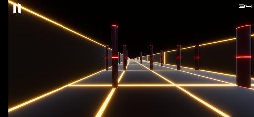Neon Corridor screenshot 4