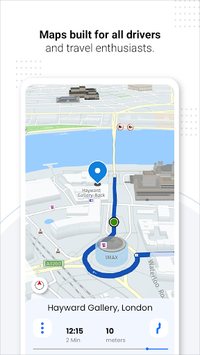 GPS Live Navigation, Maps, Directions and Explore android2mod screenshots 2