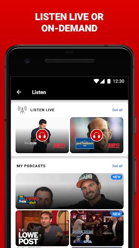 ESPN android2mod screenshots 7