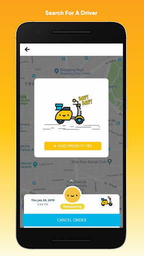 happy move: on-demand delivery from smile to smile screenshot 2