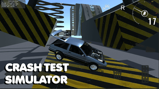 Car crash test simulator: sandbox, derby, offroad apktreat screenshots 1