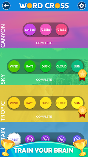 Word Cross : Best Offline Word Games Free  screenshots 5