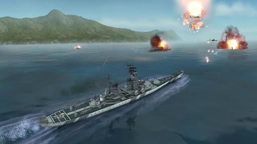 Télécharger WARSHIP BATTLE:3D World War II mod apk screenshots 2