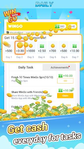 WinGo QUIZ - Win Everyday & Win Real Cash 1.0.3.2 Screenshots 13