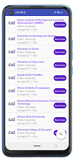 CAO Admissions (WAEC Results Checker )