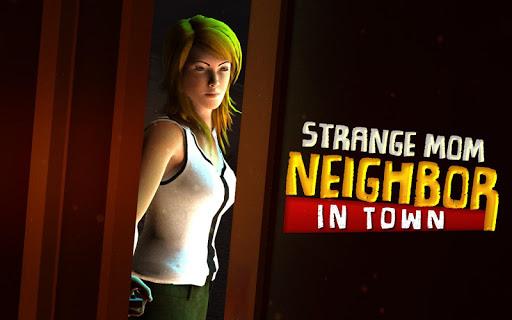 strange mom neighbor in town - mystery games screenshot 1