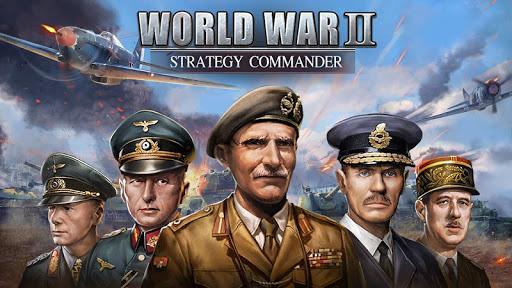 WW2: Strategy Commander Conquer Frontline  screenshots 1