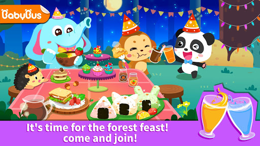 Baby Panda's Forest Feast - Party Fun  screenshots 1