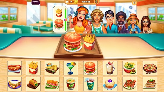 Cook It! Cooking Games Madness & Krusty Cook-off 1.3.4 MOD Apk Download 1