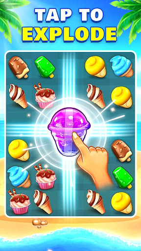Ice Cream Paradise - Match 3 Puzzle Adventure filehippodl screenshot 2