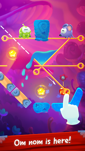 Om Nom Pin Puzzle android2mod screenshots 9