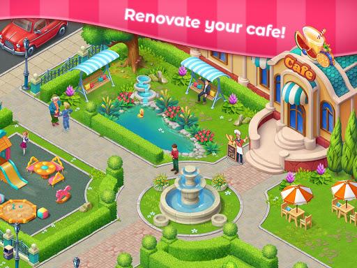 Grand Cafe Storyuff0dNew Puzzle Match-3 Game 2021 2.0.26.1 screenshots 8