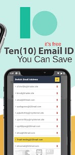 T Mail – Temporary Email Address MOD APK 3