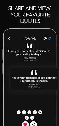 Cryptogram - Decrypt Quotes screenshots 5