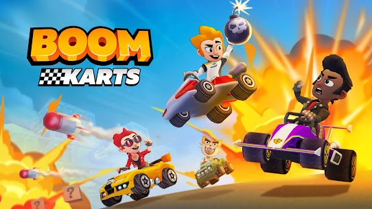 Boom Karts – Multiplayer Kart Racing Mod Apk 1.7.0 (All Cars Are Open) 6