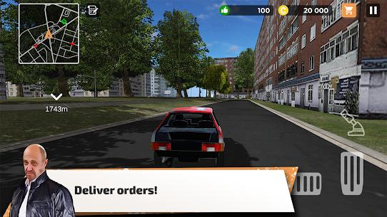Big City Wheels – Courier Simulator Mod Apk 1.5 (Unlimited Money/Points) 8