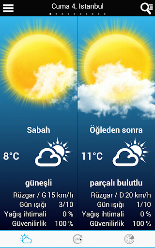 Weather for Turkey modavailable screenshots 11