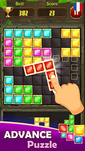 Code Triche Block Puzzle Game: Puzzle En Bois, Woodoku APK MOD (Astuce) screenshots 1