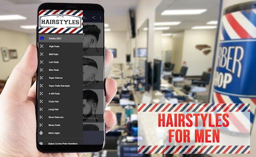 Haircuts Men 2021 💈 1.0 screenshots 1