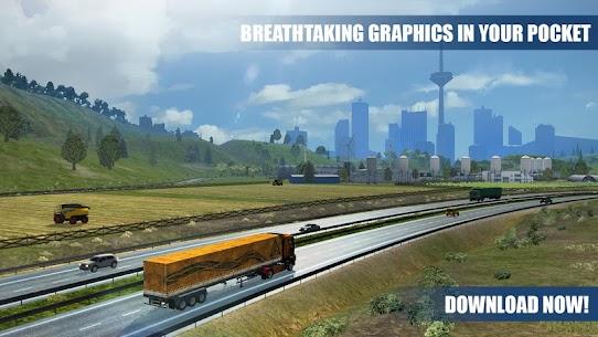 Truck Simulator PRO Europe (MOD APK, Paid/Money) v1.2 5