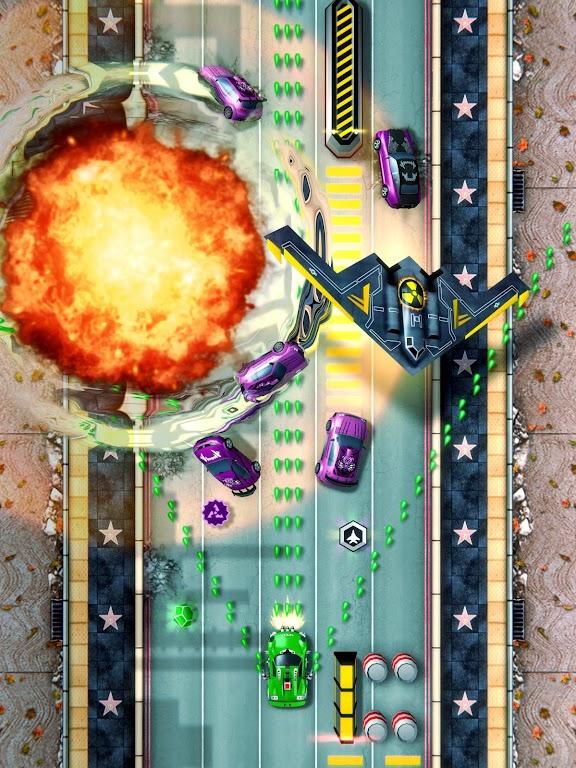 Chaos Road: Combat Racing poster 8