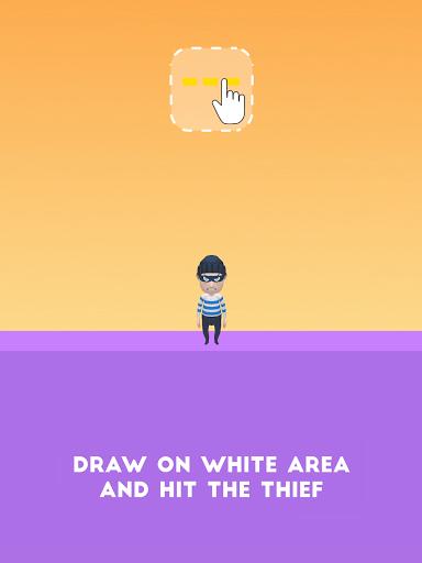 Draw & Hit: Kick the Robber! apkdebit screenshots 17