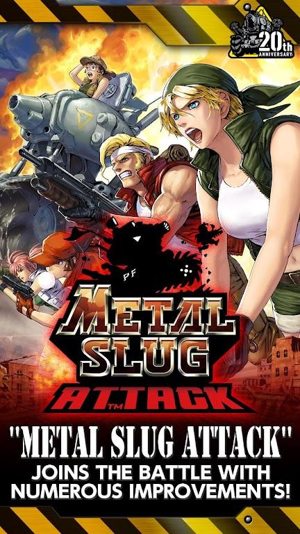 METAL SLUG ATTACK  poster 7
