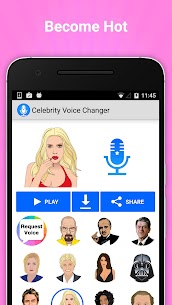 Celebrity Voice Changer APK 4