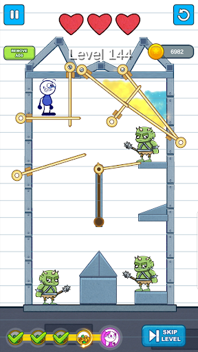 Pencil Boy - Pull The Pin, Rescue Princess 0.8 screenshots 12
