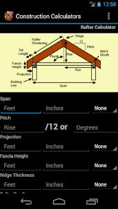 Handy Construction Calculator 7.58 (MOD + APK) Download 2